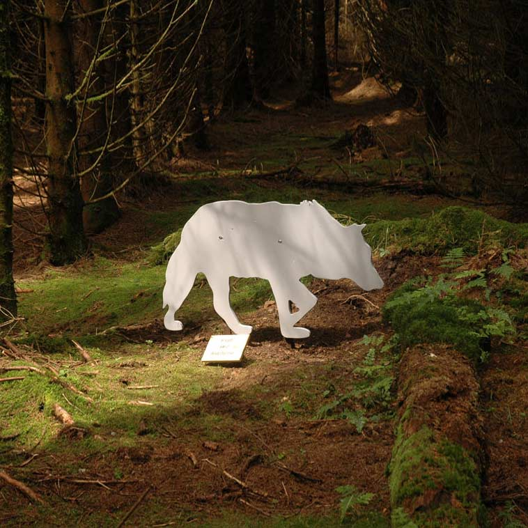 Mythos Wolf 1, Braunlage, LandArt